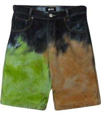 molo avian shorts with tie dye pattern
