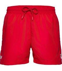 dbu fan 2020 swim shorts badshorts röd hummel