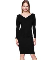 sukienka ołówkowa czerń