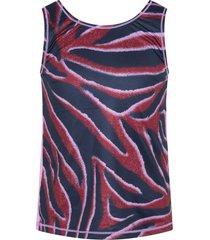 molo multicolor tank oriana for girl with zebra stripes
