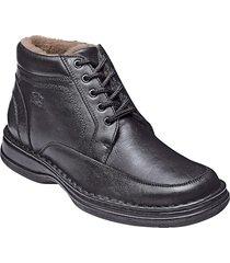 skor med värmande fårskinn softwalk svart
