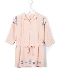caramel dandelion dress - pink