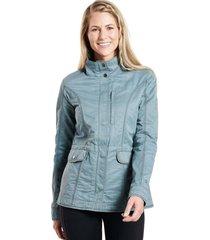 chaqueta mujer w's luna jacket mineral blue kuhl
