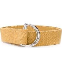 barena d-ring belt - yellow