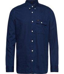 button down variatio skjorta casual blå lee jeans