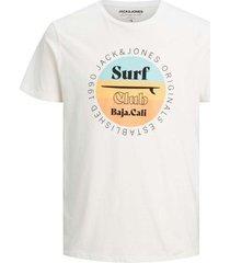 t-shirt korte mouw jack & jones camiseta hombre jack jones 12188501