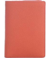maison margiela grainy embossed leather wallet