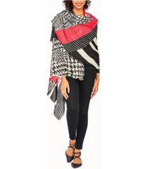 two's company go getter scarf with eyelash fringe