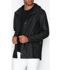 rains jacket jackor black