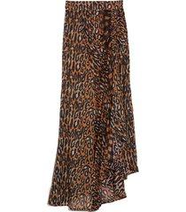 eva skirt in panthere brun