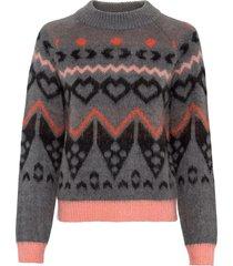 maglione norvegese (grigio) - rainbow