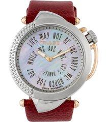 reloj be sassy rojo mulco