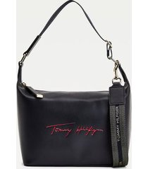 tommy hilfiger women's signature hobo bag desert sky -