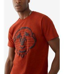 men's buddha head graphic t-shirt