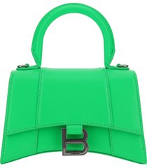 borsa donna a mano shopping in pelle hourglass xs