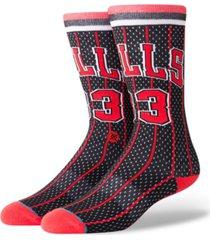 stance scottie pippen chicago bulls hardwood classic jersey crew socks