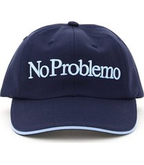 aries baseball cap no problemo embroidery