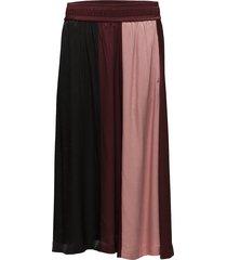 venice skirt lw knälång kjol röd inwear