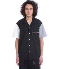 mastermind world shirt in black polyester