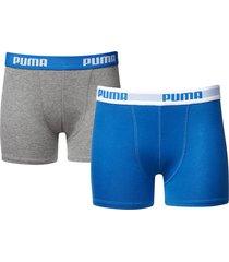 puma jongens boxershorts 2 pak 525015001 - 417-140