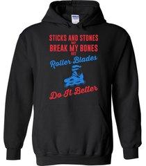 roller blades do it better blend hoodie