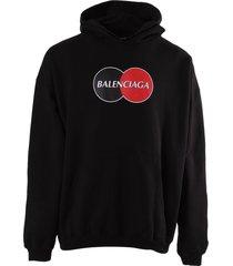 uniform logo hoodie
