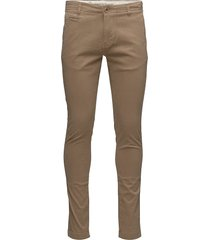 joe chino pant chino broek bruin knowledge cotton apparel