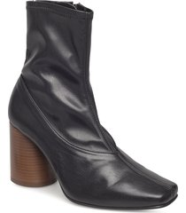 new york boots shoes boots ankle boots ankle boots with heel svart twist & tango