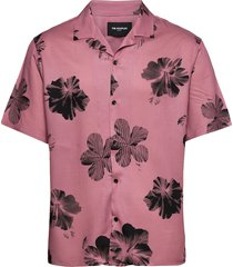 chemise overhemd met korte mouwen roze the kooples