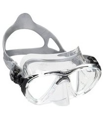 máscara de mergulho cressi big eyes evolution crystal