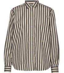 capri overhemd met lange mouwen beige totême