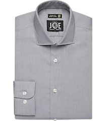 joe joseph abboud repreve® charcoal slim fit dress shirt