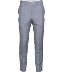german194 kostymbyxor formella byxor blå hugo