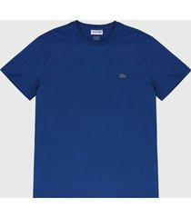camiseta azul  lacoste
