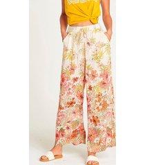 pantalon mujer heart beats multicolor billabong