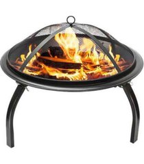 westin furniture steel wood burning fire pit