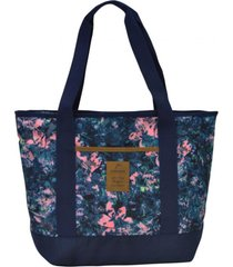 cartera bolso shop flores azul head