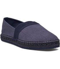 lular espadrille sandaletter expadrilles låga blå gant