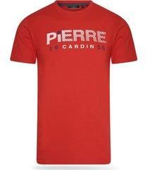 t-shirt korte mouw pierre cardin 1950 logo shirt