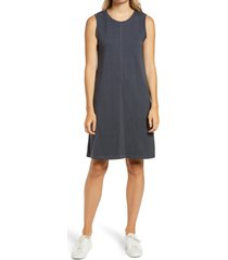 women's caslon muscle tank dress, size medium - grey