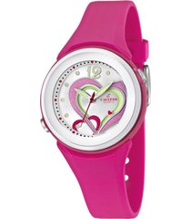 reloj digital crush fucsia calypso