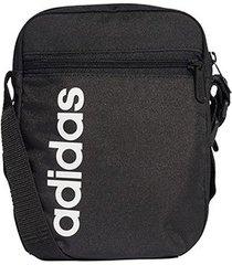 shoulder bag adidas alça transversal estampa lateral lin core