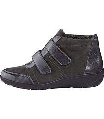 skor med kardborreband semler grå