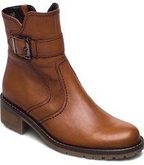 ankle boot shoes boots ankle boots ankle boot - flat brun gabor