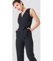 trendyol waistband jumpsuit - black