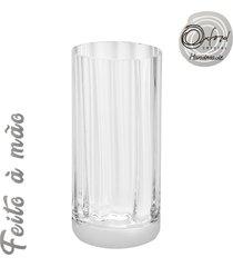 conjunto de 6 copos de cristal suco 340ml