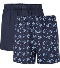 boxershorts i 3-pack g gregory marinblå::ljusblå