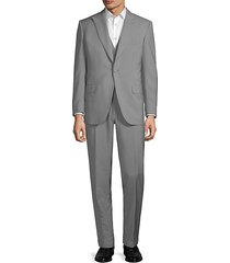 wool & mohair striped suit