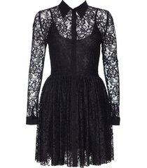 sukienka diane z czarnej koronki