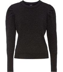 maglione a coste (nero) - bodyflirt